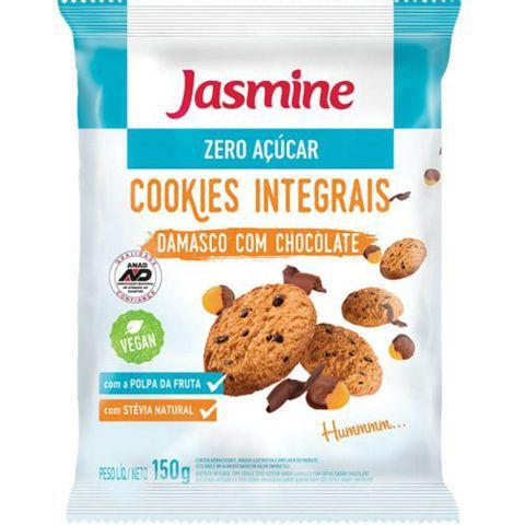 Cookies Integrais Damasco Com Chocolate - 150g - Jasmine