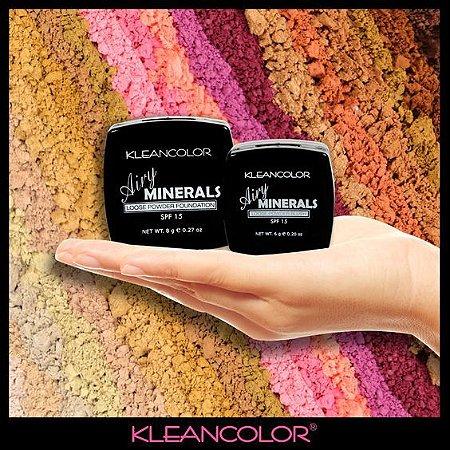 Pó sombras minerais- Kleancolor