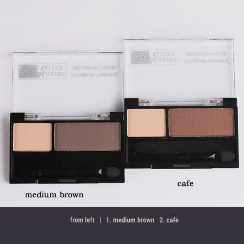 Paleta de sombra para sobrancelha- Malibu