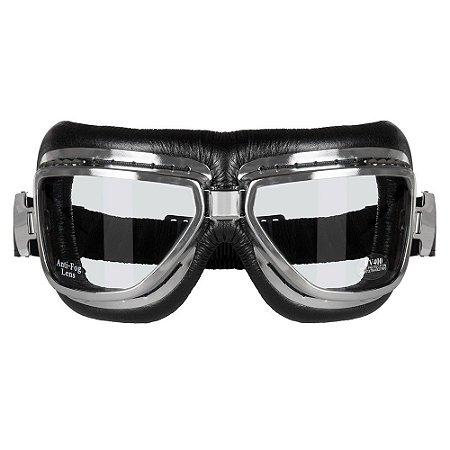 Óculos Goggles SKY Cromado Vintage