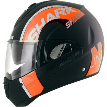 Capacete Shark EVOLINE SERIE 3 DROP MATT KOK