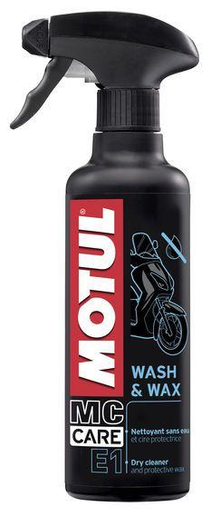 MC Care E1 Wash & Max Limpeza à Seco 400ml - Motul