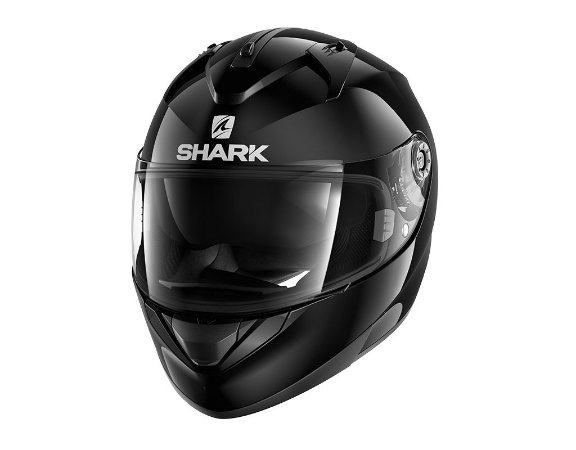 Capacete Shark RIDILL BLANK BLK