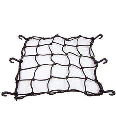 Rede para Capacetes 35x35cm Preta Rede Elástica
