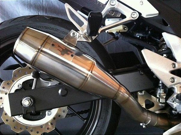 Escapamento Esportivo Kawasaki Z800 Firetong Flame