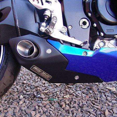 Escapamento Esportivo Suzuki GSXR 750 (10/13) + Coletor Firetong Willy Made