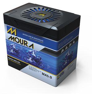 Bateria Moura Moto 12v 6Ah MA6D
