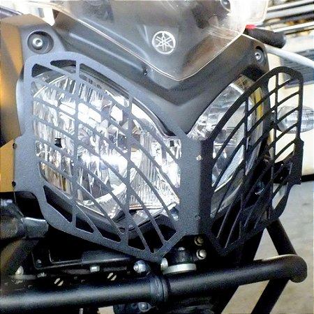 Protetor de Farol Yamaha TENERE 250 em Aço Carbono SCAM