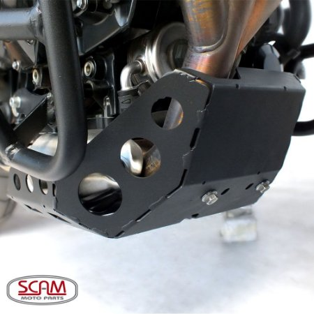 Protetor de Carter Triumph TIGER 800 Aço Carbono SCAM