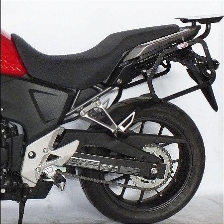 Suporte De Malas Laterais Monokey Honda CB 500X (2018 em diante)