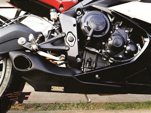 Escapamento Esportivo Triumph Daytona 675R Willy Made Firetong