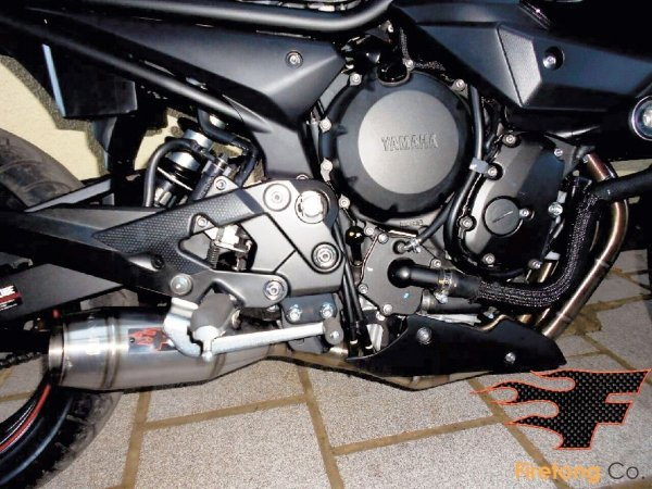 Escapamento Esportivo Yamaha XJ-6 Flame Firetong