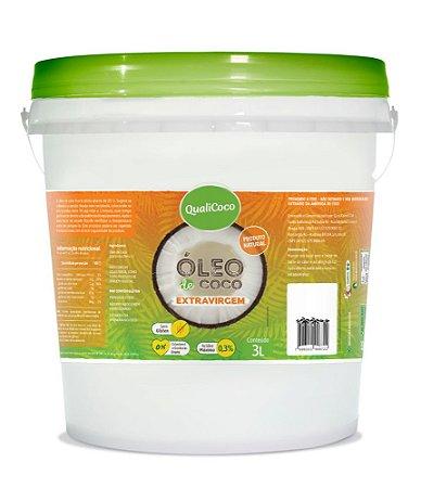 Óleo de Coco Extravirgem 3L QualiCoco