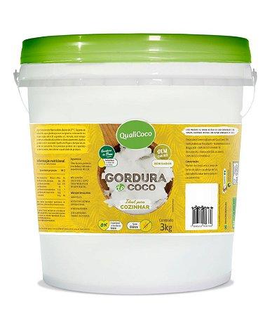 Gordura de Coco QualiCoco 3kg