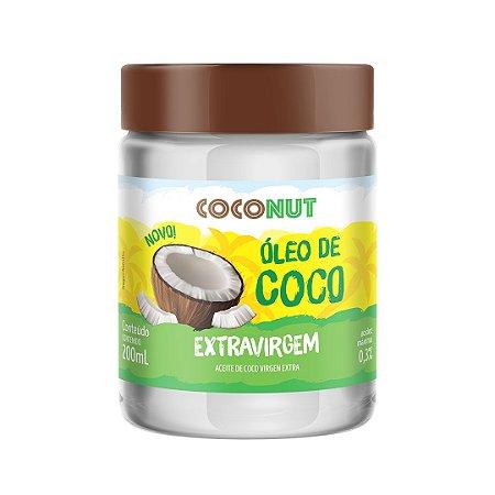 Óleo de Coco Extravirgem Coconut 200mL