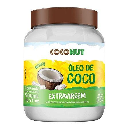 Óleo de Coco Extravirgem Coconut 500mL