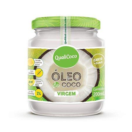 Óleo de coco Virgem 200mL QualiCoco