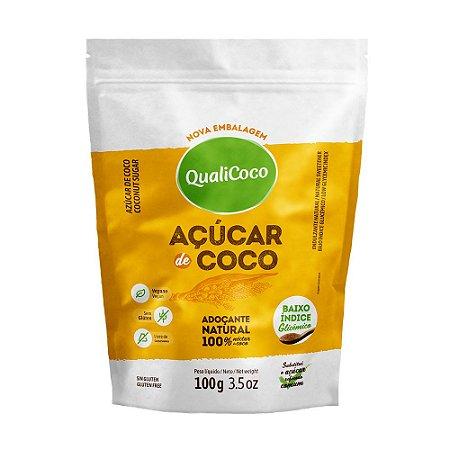 Açúcar de Coco QualiCoco 100g
