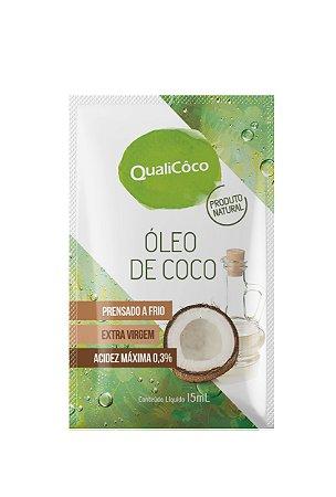 Óleo de Coco Extravirgem QualiCôco Sachê 15ml