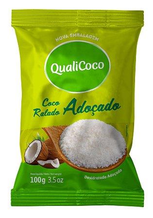Coco Ralado Adoçado QualiCoco 100g