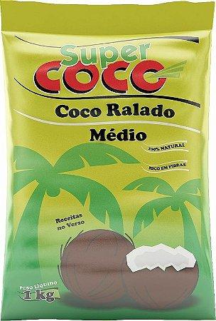 Coco Ralado Médio SuperCoco 1kg