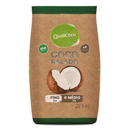 Coco Ralado Médio QualiCoco 5kg