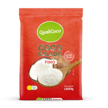 Coco Ralado Fino QualiCoco 1,010kg