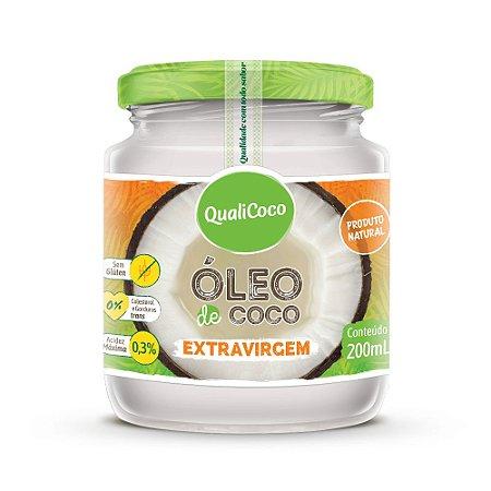 Óleo de Coco Extravirgem 200ml QualiCoco