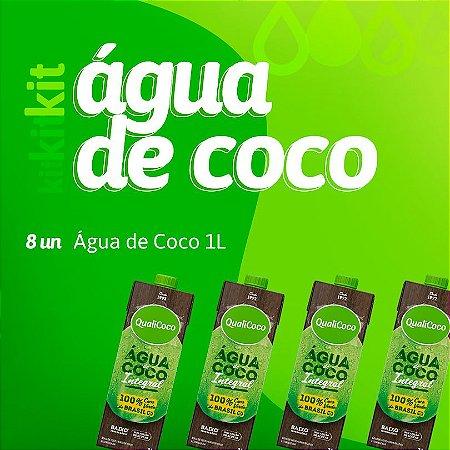 Kit Água de Coco 1L(8 unidades)
