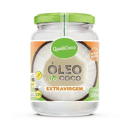 Óleo de Coco Extravirgem 500ml QualiCoco