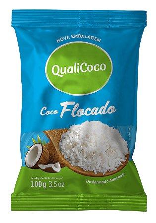 Coco Ralado Flocado QualiCoco 100g
