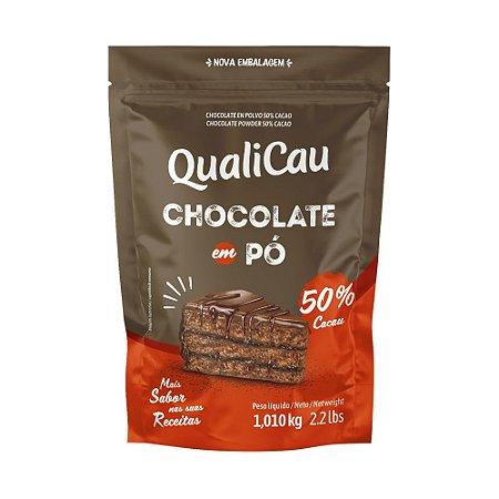 Chocolate em Pó 50% Cacau QualiCau 1,010kg