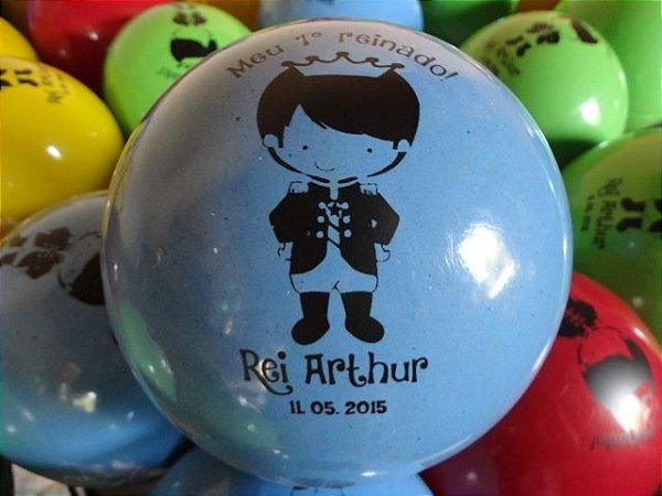 Kit com 50 bolas de vinil personalizadas de 35cm por r 150 - Bolas de cristal personalizadas ...