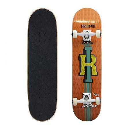 Skate Completo Profissional Kronik Ítalo Romano College 8.0