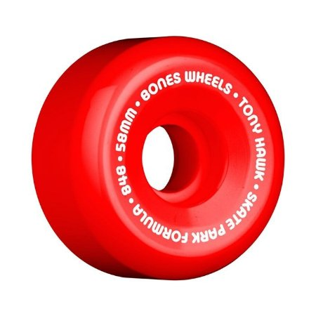 Roda Bones SPF Hawk Mini Cube 58mm 84B Vermelha