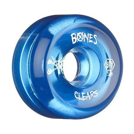 Roda Bones SPF Clear 58mm 84B Azul