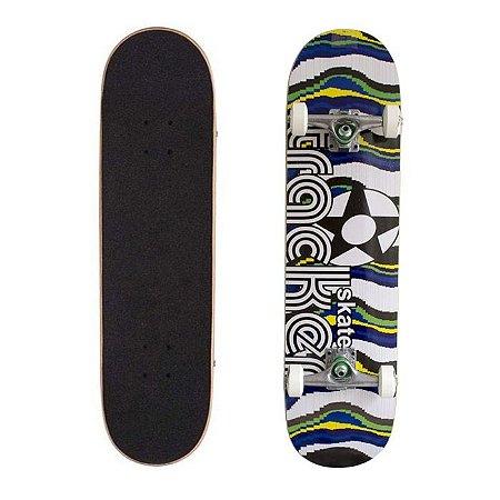 Skate Completo Tracker Semi Pro Brasil 8.0