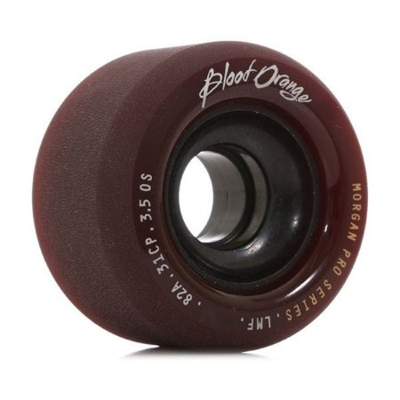 Roda Blood Orange Morgan Pro Series 65mm 82A Marrom