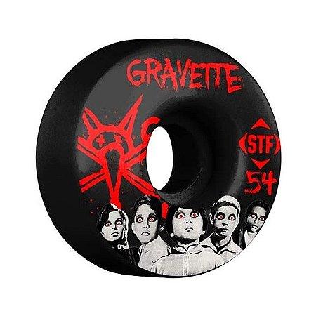 Roda Bones Stf Gravette Seed 54mm 83b Preta
