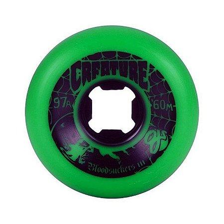 Roda Oj Creature Bloodsuckers 3 60mm 97a Verde