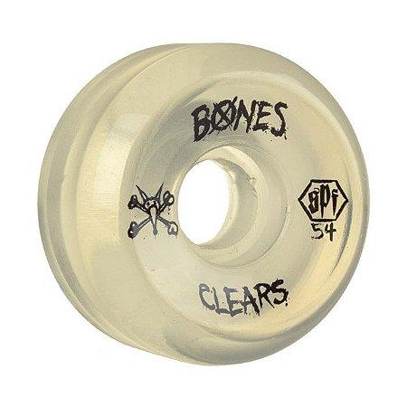 Roda Bones SPF Clear 54mm 84B Natural