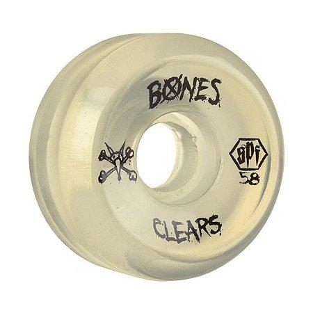 Roda Bones SPF Clear 58mm 84B Natural