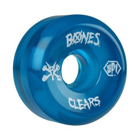 Roda Bones SPF Clear 60mm 84B Azul