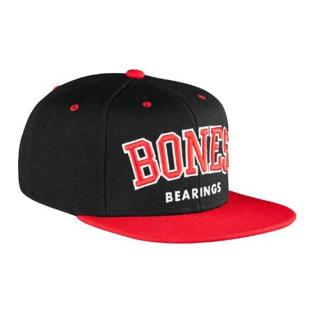 Boné Bones Bearings Snapback Emphasis Preto