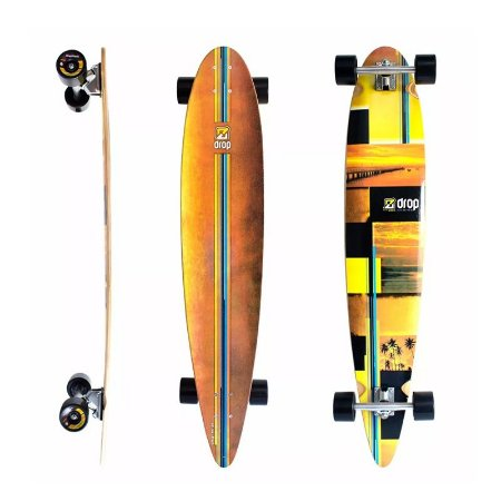 """Longboard Pintail Completo DropBoards Sunset 9.5"""" x 46"""""""