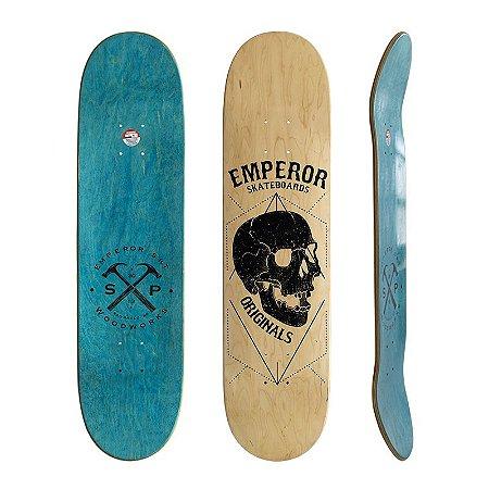 Shape Emperor Maple Black Skull 8.0