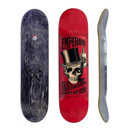 Shape Emperor Maple Red Skull 8.25