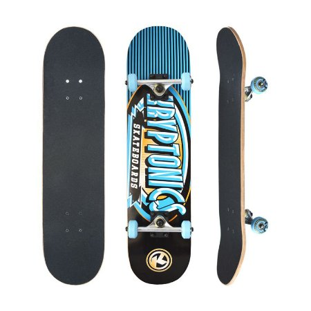 Skate Completo Kryptonics Ray Gun Series Icy 7.5 - Shape Maple