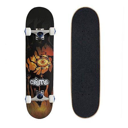 Skate Completo Importado Crème Orange Eye 8.0 - Shape Maple