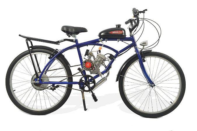 Bicicleta Motorizada Caiçara City Motor Moskito 80cc